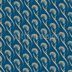 Zeitlos Elegante Blumen Vektor Muster