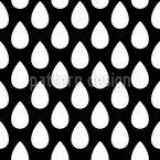 Weißer Regen Nahtloses Vektormuster