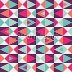 Retro This And That Seamless Vector Pattern Design