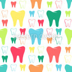 Shiny Teeth Pattern Design