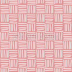 Line Basket Weave Vector Pattern