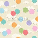 Luftballons In Den Wolken Musterdesign