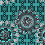 Mandala Mix Seamless Vector Pattern Design
