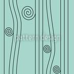 Ligne Nouveau Seamless Vector Pattern Design