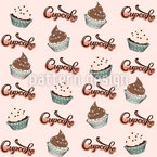 Cupcake Dreams Seamless Vector Pattern Design