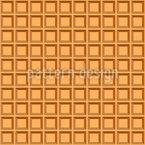 Waffle Seamless Vector Pattern Design