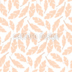 Pillow Feathers Seamless Vector Pattern Design