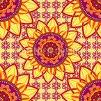 Mandala Blume Musterdesign