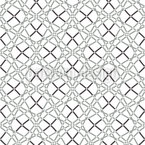 To Knit A Net Seamless Vector Pattern Design