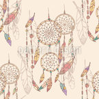 Dreams And Visions Seamless Vector Pattern Design