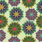 Mandala Variations Seamless Vector Pattern Design