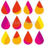 Sommerregen Muster Design