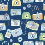 Say Cheese Seamless Vector Pattern Design