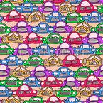 渋滞セッション シームレスなベクトルパターン設計