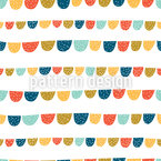 Fun Flags Seamless Vector Pattern Design