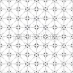 Crossed Crosses Seamless Vector Pattern
