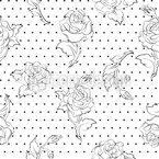 Rosen auf Punkte Vektor Design
