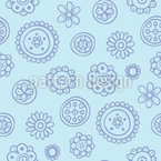 Flowers Are Fun Seamless Vector Pattern Design