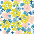 Let It Bloom Again Repeating Pattern