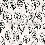 ブラシの葉 シームレスなベクトルパターン設計
