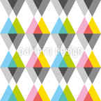 Geometrical Triangles Vector Pattern