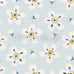 Schöne Blüten Musterdesign