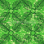 Leaf Stamp Vector Ornament