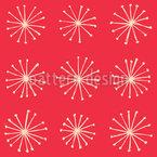 Star Sparkle Seamless Vector Pattern Design