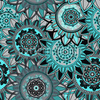 Mandala Splendor Seamless Vector Pattern Design