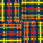 Tartan Cloth Seamless Vector Pattern Design