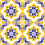 Moorish Splendor Seamless Vector Pattern Design