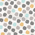 Spotted Points Seamless Pattern
