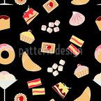 Sweet Pleasures Seamless Vector Pattern Design
