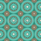 Boho Flowers Design Pattern