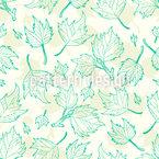 Ahorn Blätter Nahtloses Vektormuster