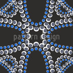 Beads by Moonlight Seamless Vector Pattern Design