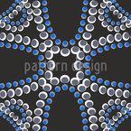 Perlen im Mondschein Vektor Muster