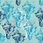 Poseidon Calls Seamless Vector Pattern Design