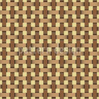 Wicker Weave Seamless Vector Pattern Design
