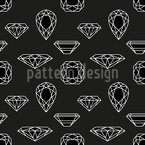 Diamonds Seamless Vector Pattern Design