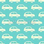 Vintage Spielzeug Autos Rapportiertes Design