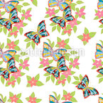 Fresh Floral Bouquets Repeating Pattern