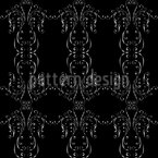 Metal Curlicue Seamless Vector Pattern Design