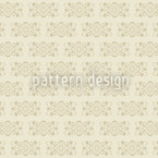 Beige Royal Estampado Vectorial Sin Costura