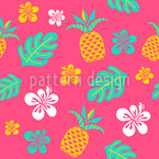 Caribbean Party Seamless Vector Pattern Design