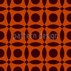 Arejado Retro Design de padrão vetorial sem costura