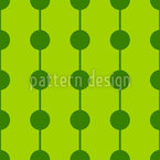 Strings With Dots Seamless Vector Pattern Design