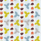 Woodland Foliage Seamless Vector Pattern Design