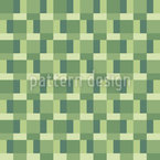 Eco Mosaic Seamless Vector Pattern Design