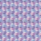 Crystallin Seamless Vector Pattern Design